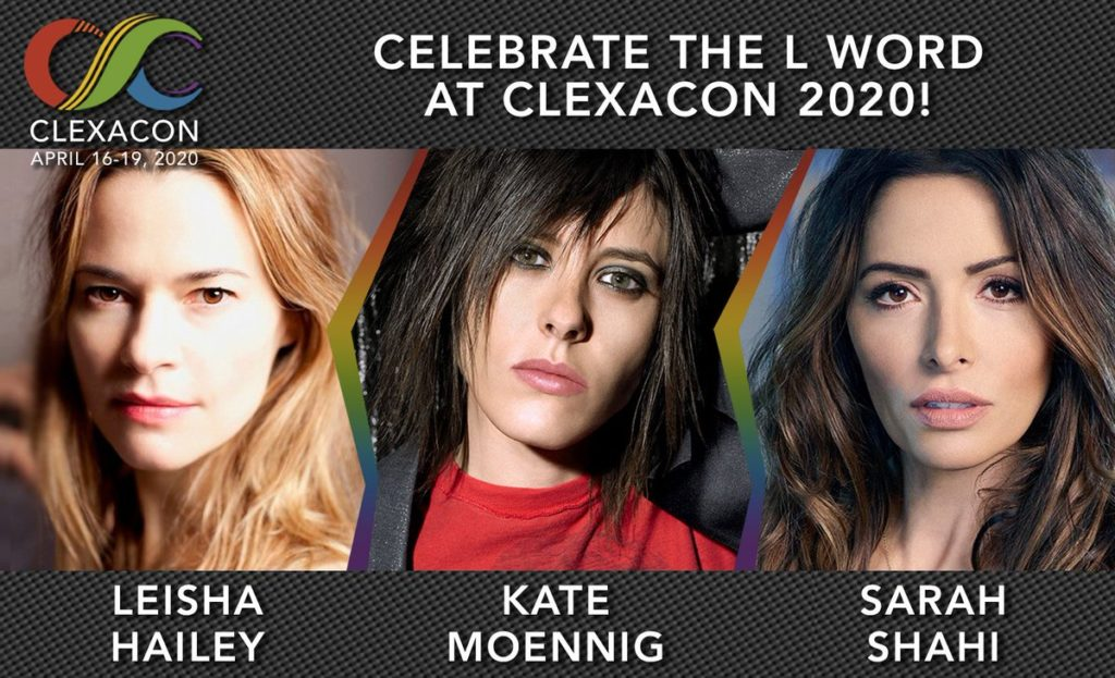CLEXACON, THE LARGEST MEDIA AND ENTERTAINMENT CONVENTION FOR LGBTQ+ WOMEN, TRANS AND NON-BINARY FANS AND CREATORS IN THE WORLD, RETURNS TO LAS VEGAS FOR ITS FOURTH YEAR